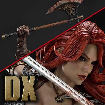 Museum Masterline Red Sonja Red Sonja She-Devil with a Vengeance Deluxe Version