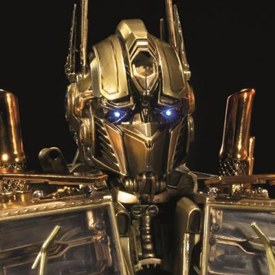 Premium Bust Transformers: Dark of the Moon Optimus Prime Gold Version