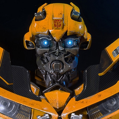 Premium Bust Transformers: Dark of the Moon Bumblebee