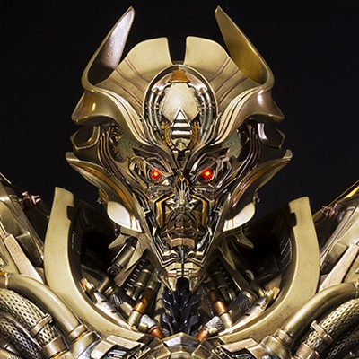 Premium Bust Transformers: Age of Extinction Galvatron Gold Version