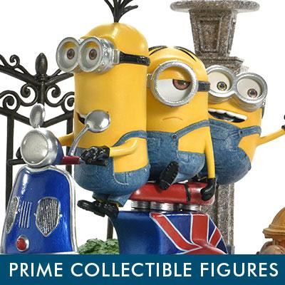 Prime Collectible Figures Despicable Me & Minions Minions on a Scooter