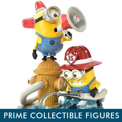 Prime Collectible Figures Minion Firefighters