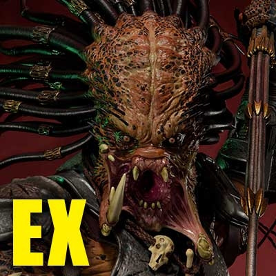 Premium Masterline Predator (Comics) Cracked Tusk Predator EX Version