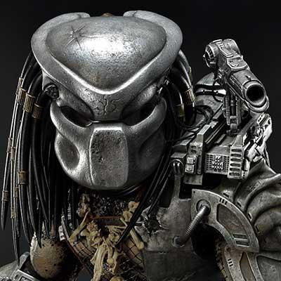 Premium Masterline Predator (Comics) Big Game Cover Art Predator