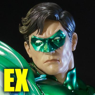 Premium Masterline Justice League: Origin (The New 52!) Green Lantern EX Version