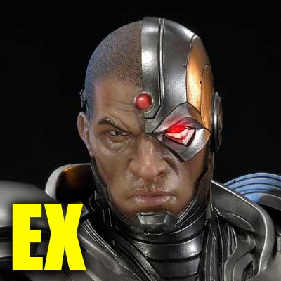 Premium Masterline Justice League: Origin (The New 52!) Cyborg EX Version