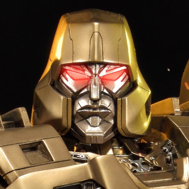 Premium Masterline Transformers Generations I Megatron Gold Version