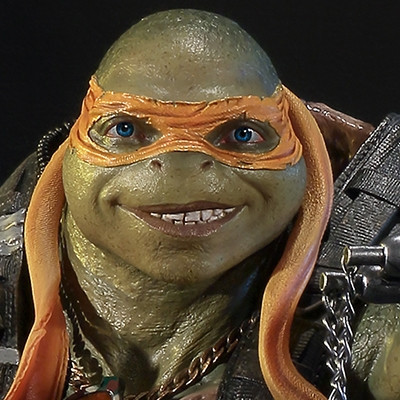 Premium Masterline Teenage Mutant Ninja Turtles: Out of the Shadows Michelangelo