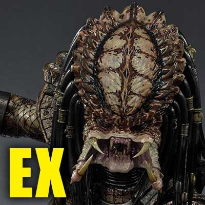 3D Wall Art Predator 2 (Film) City Hunter Predator EX Version