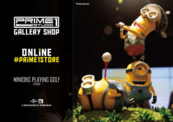 Prime Collectible Figures Despicable Me & Minions Minions Playing Golf