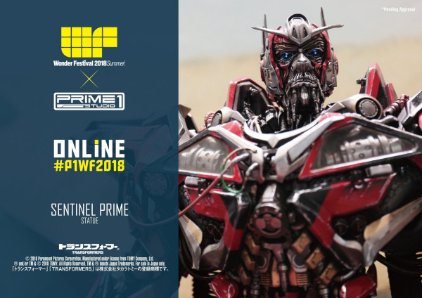 Transformers: Dark of the Moon (Film) Sentinel Prime Non Scale