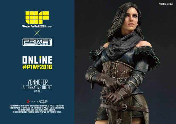 The Witcher 3: Wild Hunt Yennefer of Vengerberg Alternative Outfit 1/4 Scale