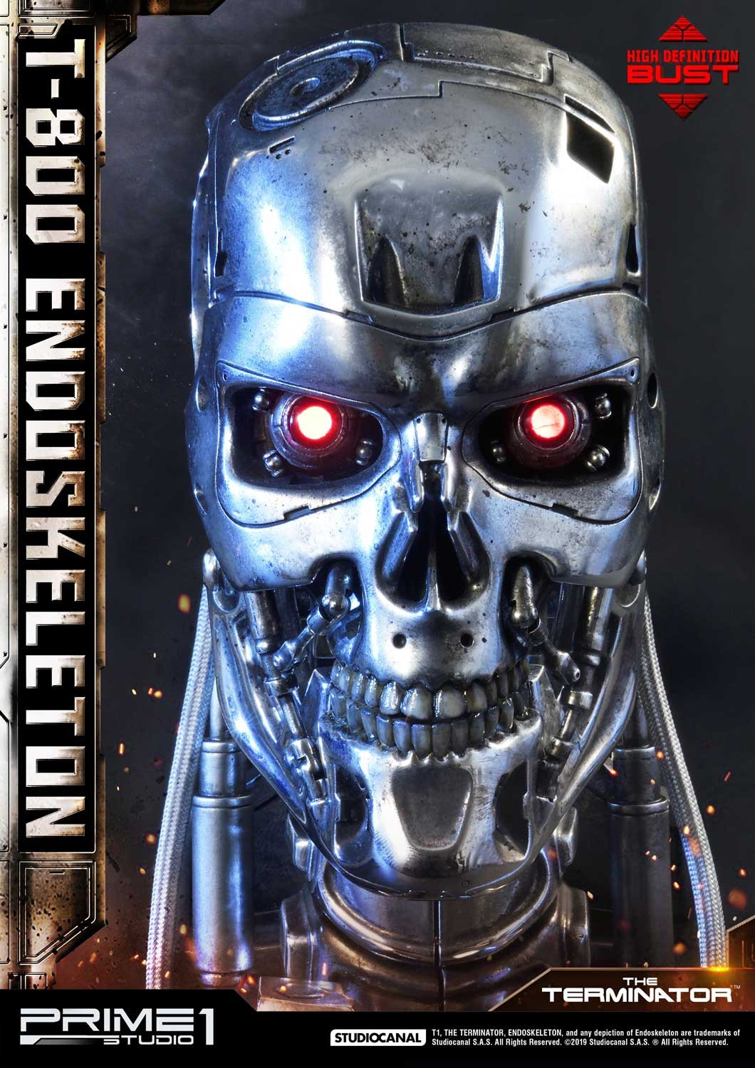 High Definition Bust The Terminator Film T 800