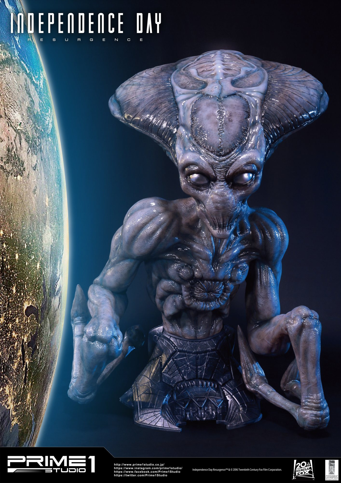 Life Size Independence Day: Resurgence (Film) Alien By ...