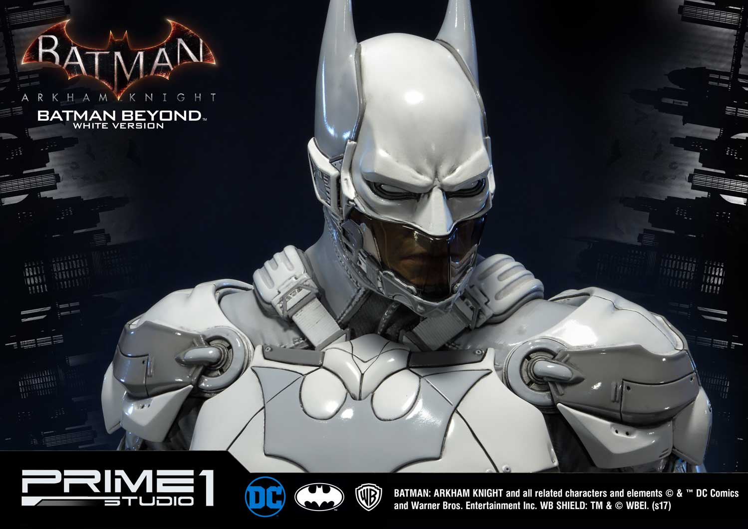 Batman Arkham Knight Batman Beyond White Version