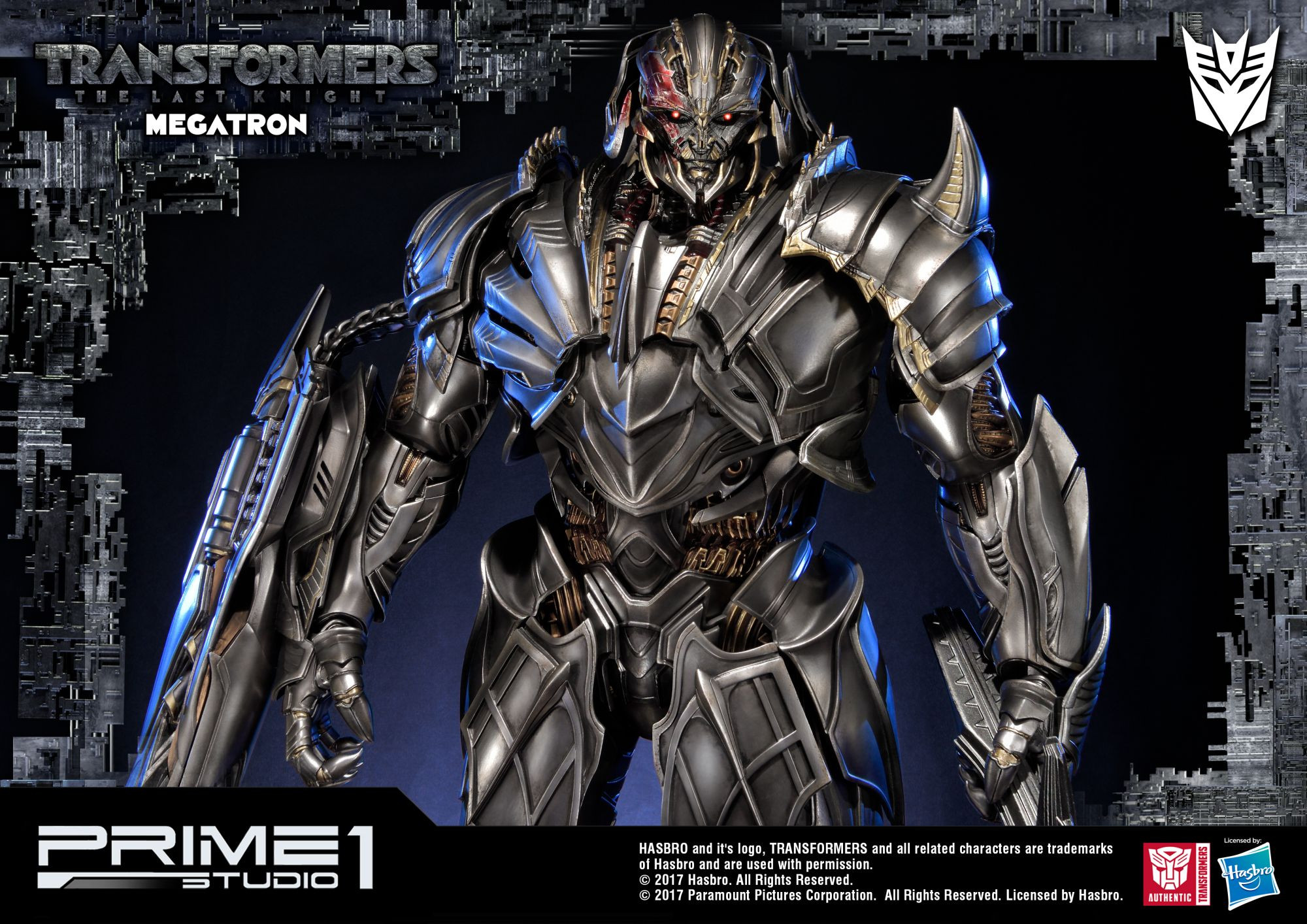 museum masterline transformers the last knight megatron ex version