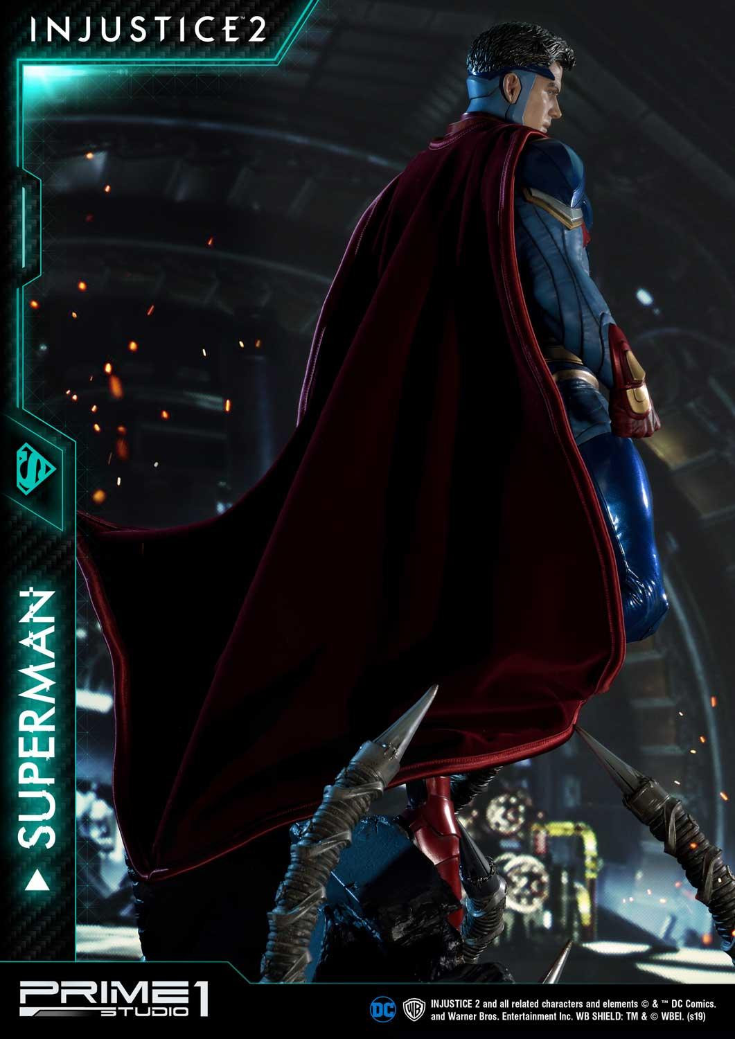 Premium Masterline Injustice 2 Superman By Prime 1 Studio